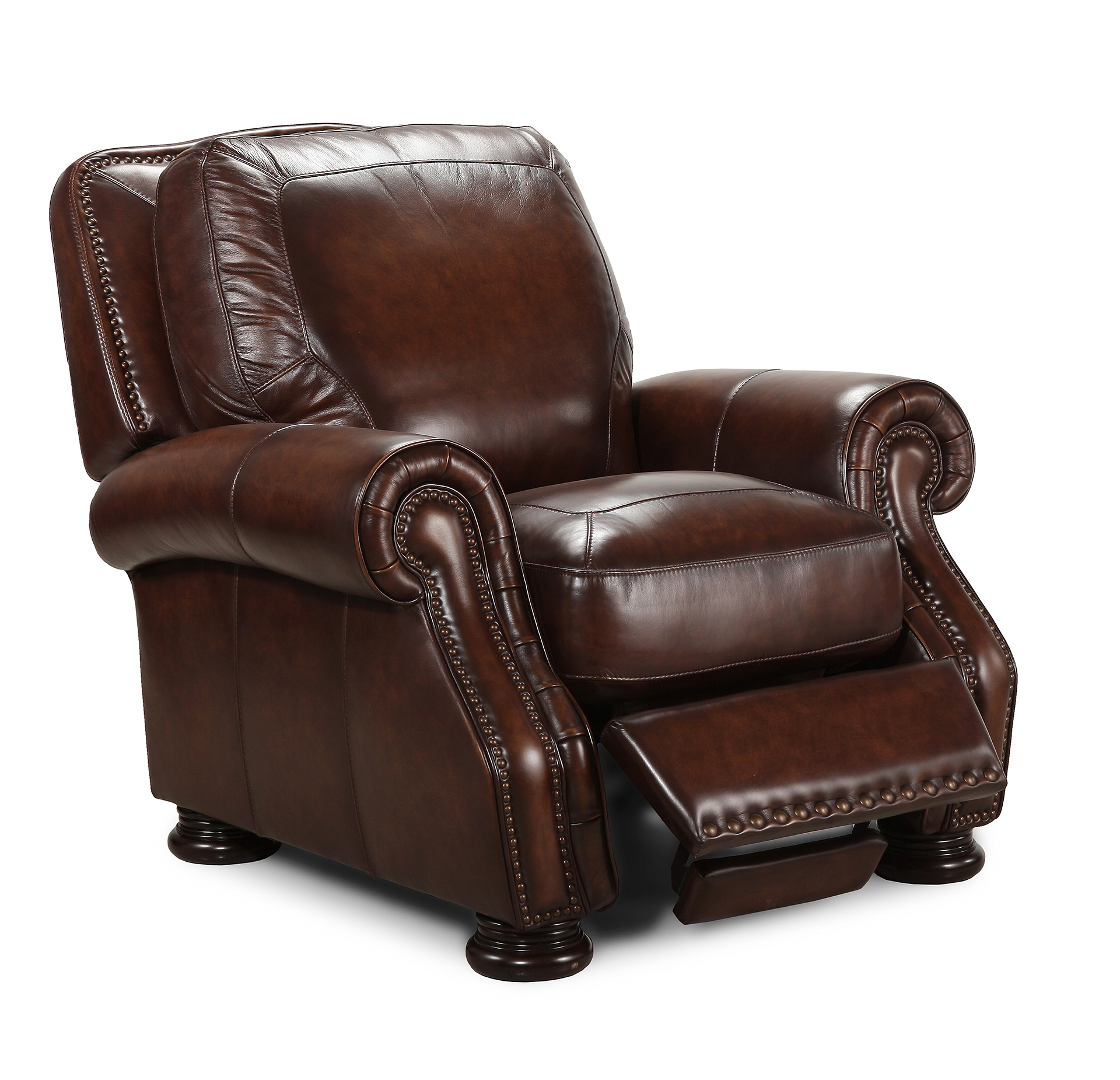 Leather Sofas Costco: Manwah Leather Power Reclining Sofa Costco