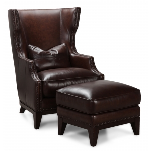 Forbes Accent Chair & Ottoman